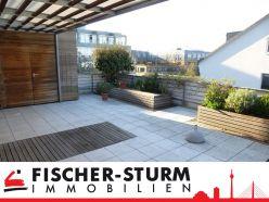 Düsseldorf-Lörick: Großzügiges Penthouse (5 Zimmer) mit Dachterrasse und Einbauküche!